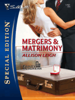 Mergers & Matrimony