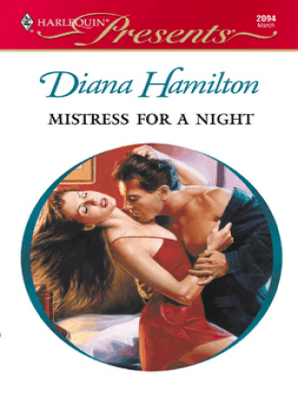 Mistress for a Night by Diana Hamilton - Read Online