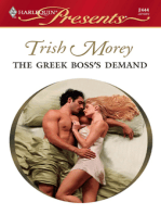The Greek Boss's Demand