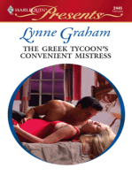 The Greek Tycoon's Convenient Mistress