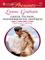 Greek Tycoon, Inexperienced Mistress