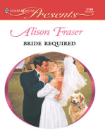 Bride Required