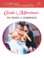 To Mend a Marriage
