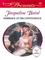 Marriage at His Convenience