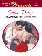 Claiming His Mistress