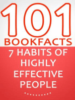 The 7 Habits of Highly Effective People - 101 Amazing Facts You Didn't Know (101BookFacts.com)