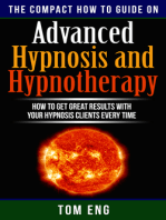Advanced Hypnosis and Hypnotherapy