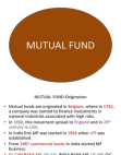 Classification of Credit Rating - Mutual Funds