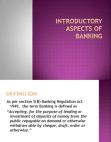 Role and Functions Of Banks
