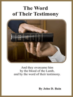 The Word of Their Testimony