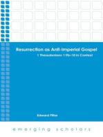 Resurrection as Anti-Imperial Gospel