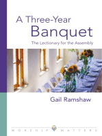 Three Year Banquet Worship Matters