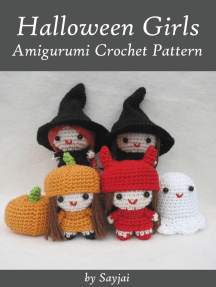 Halloween Girls Amigurumi Crochet Pattern