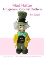Mad Hatter Amigurumi Crochet Pattern