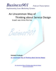 Business901 Podcast Transcription Implementing Lean Marketing Systems