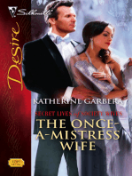 The Once-A-Mistress Wife