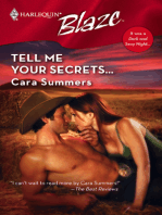 Tell Me Your Secrets...