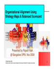 Organizational Alignment Using Balanced Scorecard - Strategy Maps