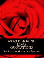 World Moving Love Quotations