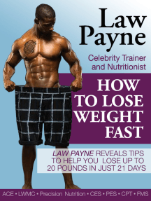 How to Lose Weight Fast by Celebrity Trainer and Nutritionist