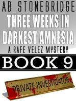 Three Weeks in Darkest Amnesia -- Rafe Velez Mystery 9 (Rafe Velez Mysteries, #9)