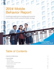 Consumer Behaviour Project on Mobile Phones 2014