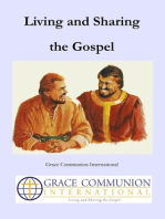 Living and Sharing the Gospel