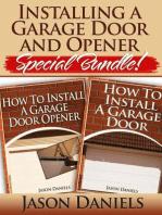 Installing a Garage Door and Opener- Special Bundle