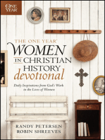 The One Year Women in Christian History Devotional