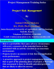 Study on Risk Management Process