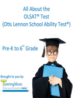 All About the OLSAT® Test: Crash Course for the Otis-Lennon School Ability Test® Pre-K to 8th Grade
