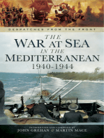 The War at Sea in the Mediterranean 1940-1944
