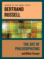 The Art of Philosophizing
