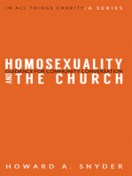 Homosexuality and the Church: Guidance for Community Conversation