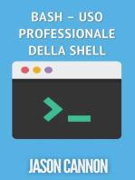 Bash – uso professionale della shell