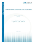 Project on Cost Analysis - Renewable Energy Technologies