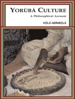 Yorùbá Culture: A Philosophical Account