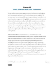 Study on Public Relations and Sales Promotions