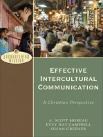 Effective Intercultural Communication (Encountering Mission)