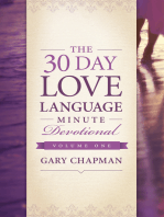 The 30-Day Love Language Minute Devotional Volume 1
