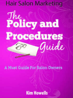 Hair Salon Policy Procedures Guide