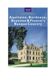 Aquitaine Bordeaux & France's Basque Country