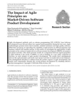 A Study on Impact of Agile Principles