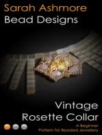 Vintage Rosette Collar