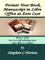 Format Your Book Manuscript in Libre Office at Zero Cost