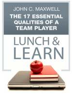 The 17 Essential Qualities of a Team Player Lunch & Learn