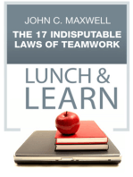 The 17 Indisputable Laws of Teamwork Lunch & Learn
