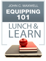Equipping 101 Lunch & Learn
