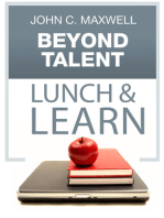 Beyond Talent Lunch & Learn