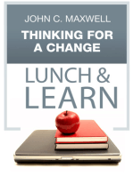 Thinking For A Change Lunch & Learn